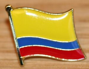 Wonderful COLOMBIA COLUMBIA Country Metal Flag Lapel Pin Badge