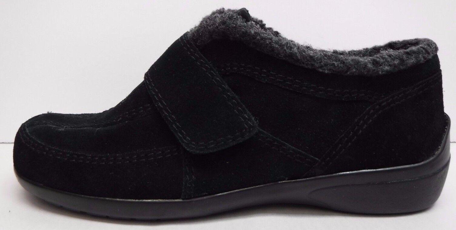 Easy Spirit Talla 6 Negro Negro Negro Cuero Mocasines nuevo Zapatos para mujer  tienda de descuento