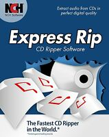 Express Rip Cd Audio Rip Software Convert To Mp3 Nch Software