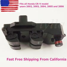 Fit For 02-06 Honda CR-V CRV Electric Power Window Master Control Door Switch US