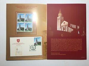 2020 Folder Italia Vaticano SMOM Emissione Congiunta Basilica di Aquileia