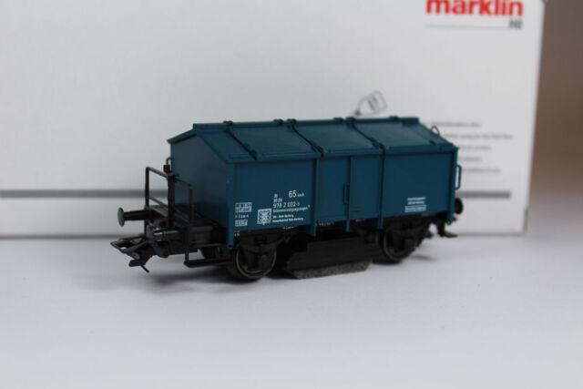 Märklin 46049 Schienen-Reinigungswagen Epoche IV, Neuware.