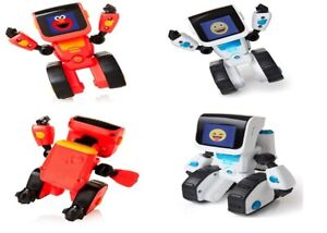 WowWee-COJI-Elmoji-Junior-The-Coding-Robot-Ages-3-Toy-Play-Game-Science-Gift