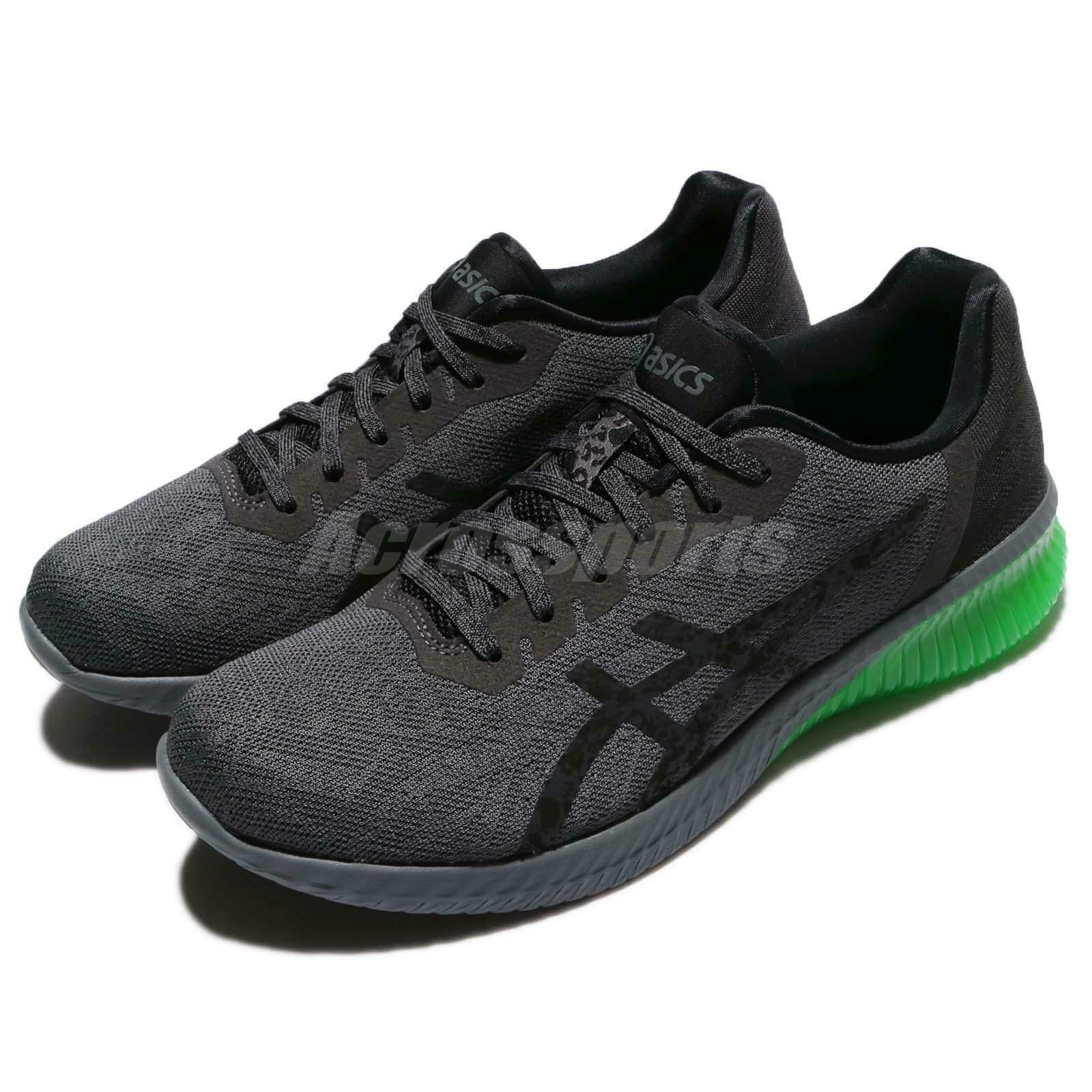 Asics Gel-Kenun Dark Dark Gris Vert Gecko Homme Running Chaussures Trainers  T7C4N-9590 6de777 6e33bbc7eaaf