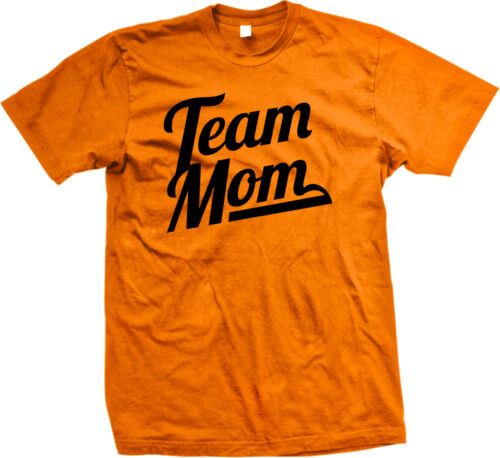 Team Mom Family Mother Son Daughter Present Holiday Gift Idea Mens T-shirt