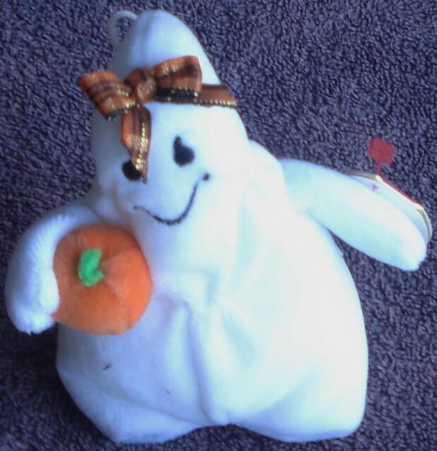 Halloween Beanie Ghost - Ghoulianne - 2006 - VERY GENTLY USED - VGC