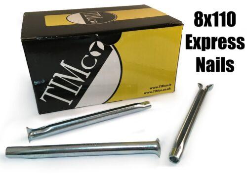 TIMco 8 x 110mm Express Nails Anchor Masonry Brick Timber Frames Box of 50