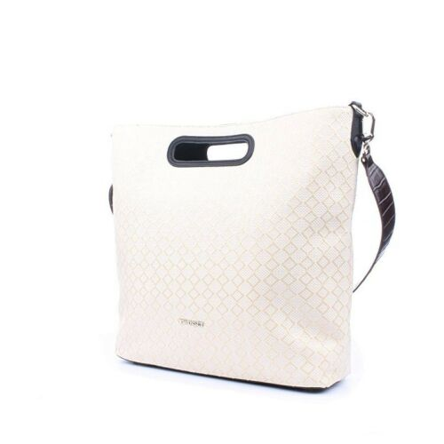 Jacquard Shopping Seta Borsa Twin Bianco Set Bag zqSw1wI0
