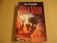 BOEK / HELS VUUR - JOE DONNELLY