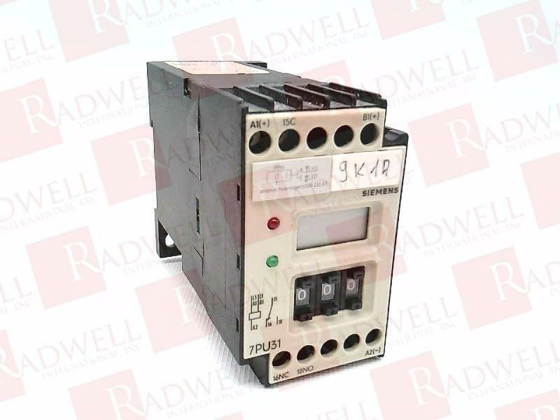 SIEMENS 7PU3140-3AJ44   7PU31403AJ44 (USED TESTED CLEANED)