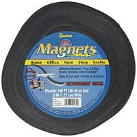 Darice Adhesive Back Magnet Strips, 100', New, Free Shipping