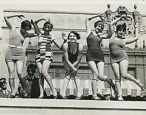 7d31efde01ba6 Image is loading Ladies-Dancing-Charleston-Photo-Swimsuits-1920s-Flappers- Jazz-