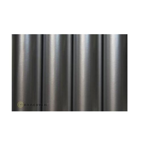 Oracover Silber 21-091 Bügelfolie Bespannfolie 10,96 Euro//1m