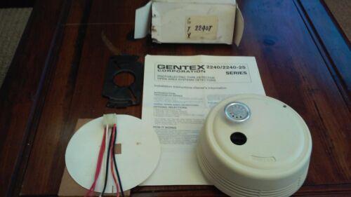 New Gentex 2240 T Smoke Alarm Detector 24 VDC