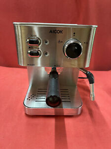 Espresso Machine Aicok Cappuccino Latte Coffee Maker 15 Bar with Milk Frother...