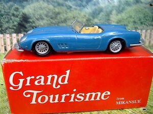 1-43-Mikansue-Grand-Tourisme-England-Ferrari-1961-Handmade-White-Metal-Kit