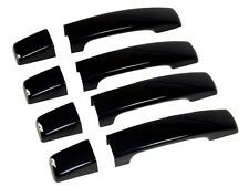 Java BLACK DOOR HANDLE cover kit for Range Rover SPORT painted HSE HST TDV8 cap