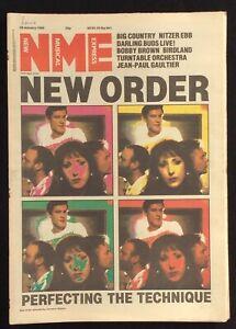 NME 28 January 1989 New Order Big Country Nitzer Ebb Darling Buds Birdland