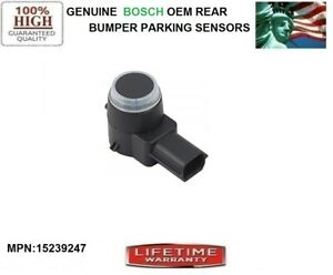NEW SET OF 4 OEM REAR BUMPER PARKING SENSORS for 2013-2014 Chevrolet Silverado 3500 HD 6.0//6.6L V8 PART NUMBER 15239247