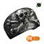 Bague-chevaliere-anneau-en-acier-inoxydable-316-L-motif-crane-skull-mort-biker miniature 1