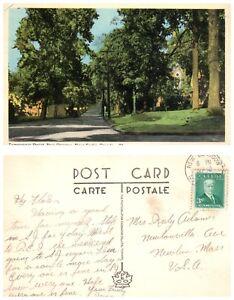 CANADA-Postcard-Nova-Scotia-New-Glasgow-Temperence-Street-B24