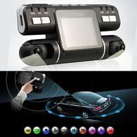 360° HD 1080P Dual Lens Car DVR Night Vision G-sensor Camera Recorder Dash Cam