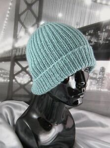 Details about PRINTED KNITTING INSTRUCTIONS-SIMPLE UNISEX SKI BEANIE  CIRCULAR KNITTING PATTERN
