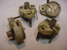 NOS Vintage Larger Ceramic Variable Tuning Capacitor 8-50 pF wt screw adjustment