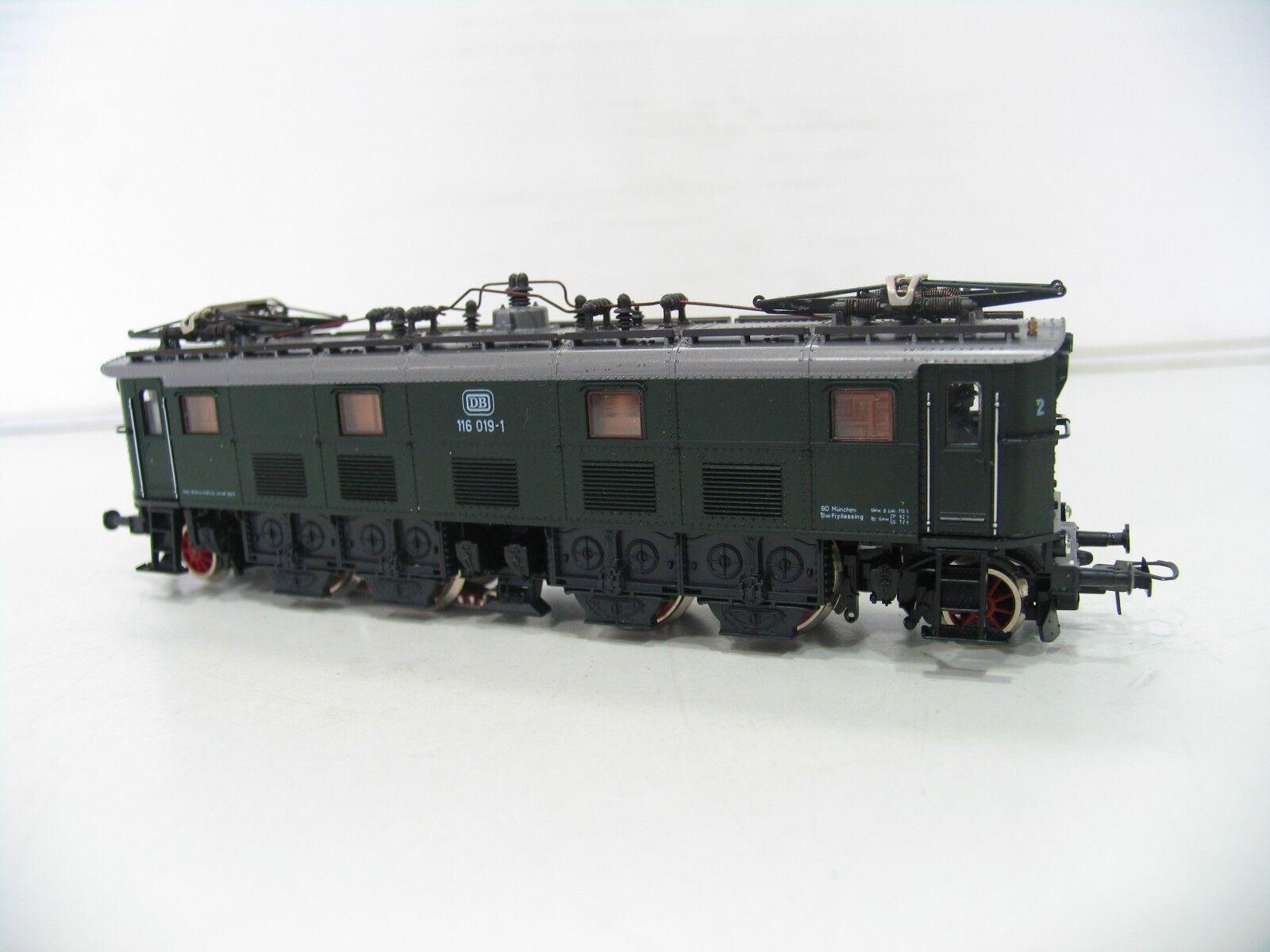 ROCO E-LOK BR 116 GRÜN  der DB   AC   O396