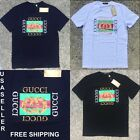 *NEW* Gucci T-Shirts for Men Crew Neck Brand New Free Shipping