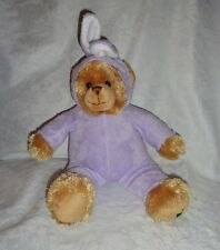 "Noah's Arc Animal Workshop Bear Rabbit Costume 16"" Plush Soft Toy Stuffed Animal"