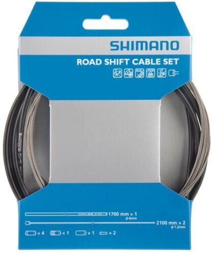 Shimano Schaltzug Set Road Edelstah Fahrrad-Schaltzug//-hülle Set Y-60098022