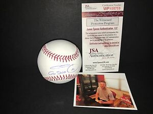ac06c6357fd Chris Sale Boston Red Sox  41 Signed Baseball JSA WITNESS COA Go Sox ...