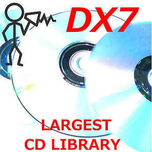 Yamaha-DX7-DX5-TX7-TX802-TX816-DX200-Program-Patch-Sound-Largest-Library-CDROM