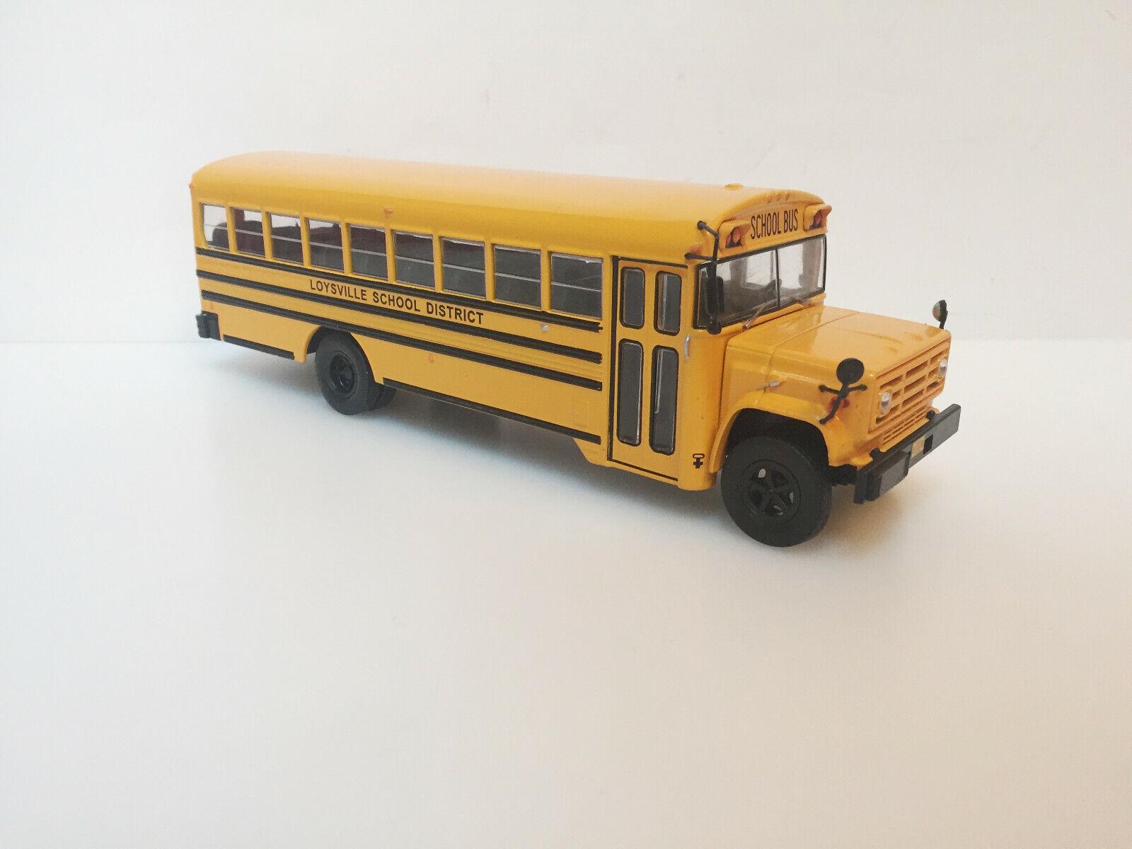 1 43 Bus GMC-6000 Lousville Schule Landkreis Hachette