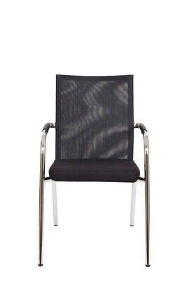 Büromöbel Vornehm Neuware Besucherstuhl Konferenzstuhl 4-fuß-gestell Stuhl Stapelstuhl Vzb-0014 Modische Und Attraktive Pakete