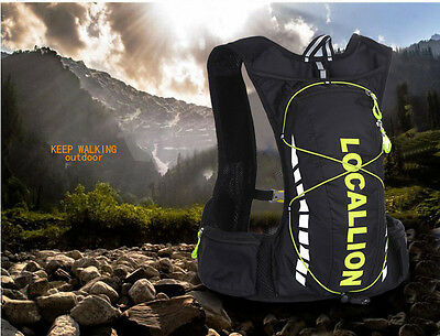 Sporting Backpack 10L Water Bladder Bags Hydration Packs Camelbak Hiking Camping