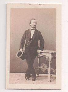 Vintage-CDV-Austrian-Noble-Top-Hat-carl-Von-Jagemann-Photo-Vienna