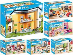 Playmobil 9266 - 9271 - Moderne Maison + 5 Chambre, Neuf/ Embal ...