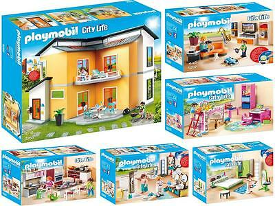 Playmobil 9266 - 9271 - Moderne Casa di Abitazione + 5 Camera,Nuovo / Conf.  | eBay