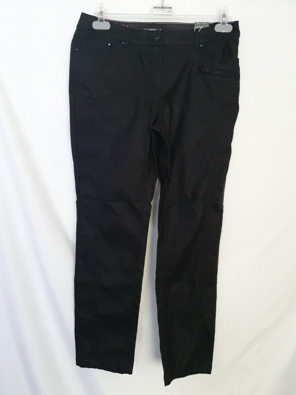 """Vanilia pantalon femmes /""""Elissa Compact satin stretch/"""" super confortables différentes couleurs NEUF"""