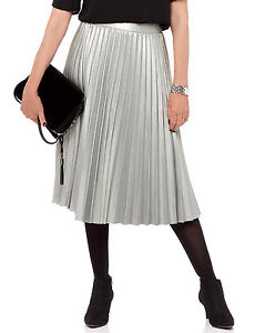 marks and spencer twiggy faux leather pleated a line skirt