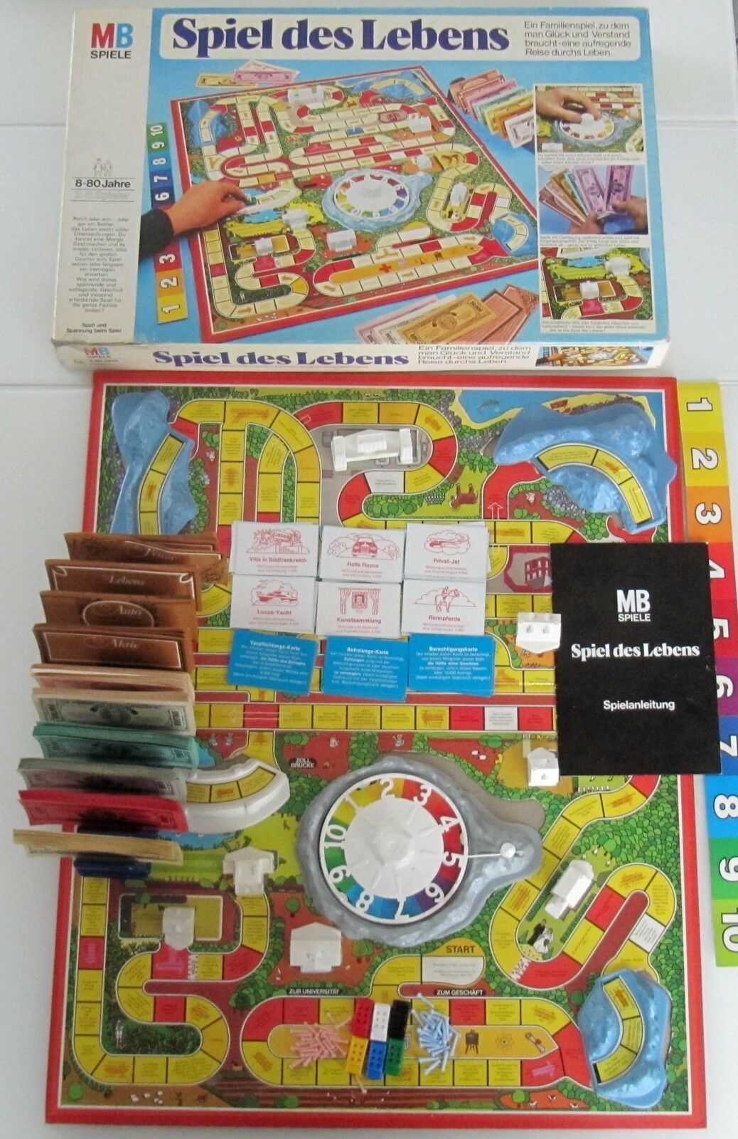 Inner Top Condition  the Game of Life  the Light bluee Edition  100 Complete
