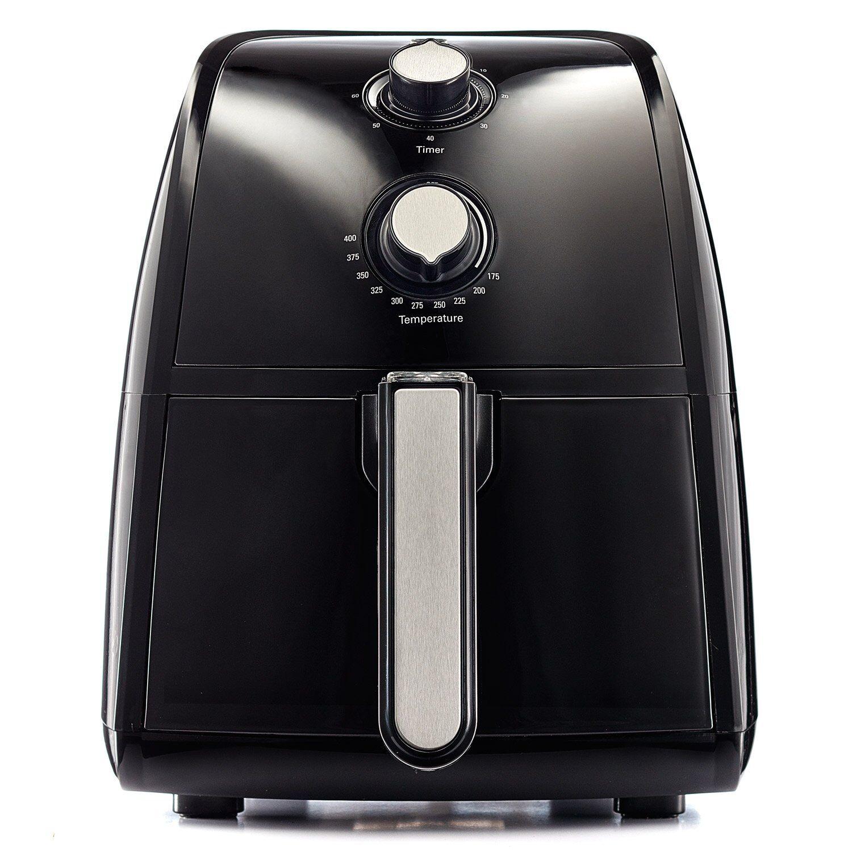 BELLA 14538 Electric Hot Air Fryer with Removable Dishwasher Safe Basket, 2.5 L,