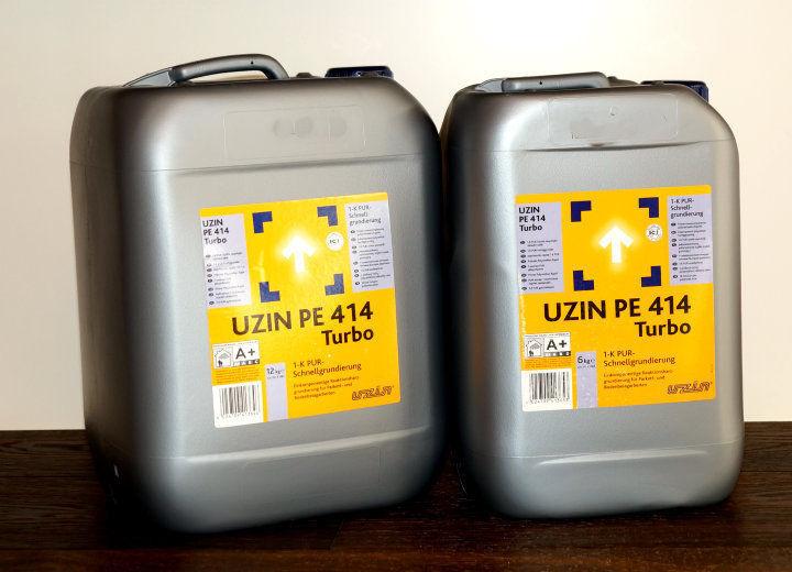 Uzin PE 414 Turbo 1-K PUR-Schnellgrundierung 6 kg, 12kg Bodengrundierung