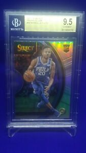 2017-Panini-Select-Markelle-Fultz-silver-Rookie-BGS-9-5-PSA10