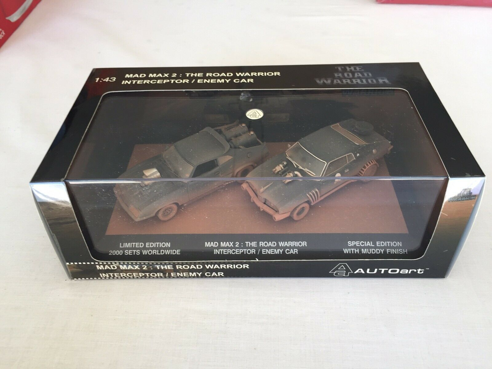 1 43 Mad max 2 The Road Warrior interceptor  Enemy car special limited edition