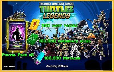 Teenage Mutant Ninja Turtles Legends Game Android Ios Bucks