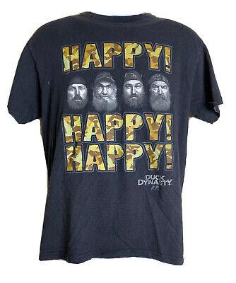 Duck Dynasty Black Tv Show A/&E Tshirt Tee Short Sleeve Mens Crew Neck Brothers