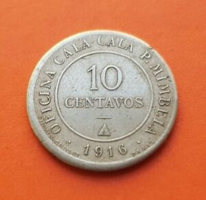 P. Mimbela CHILE TOKEN Oficina Cala Cala 50 Centavos